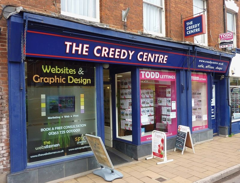Terraced commercial for sale in Crediton